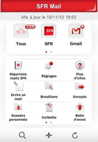 SFR Mail for iOS - Free download and software reviews