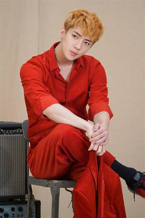EXO's Sehun Effortlessly Models In Additional Photos For