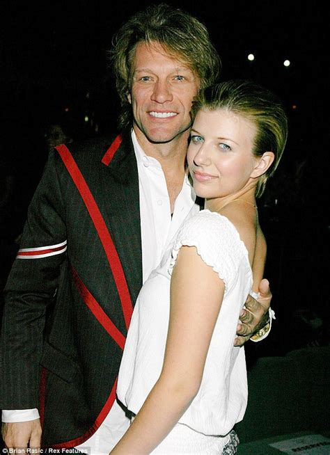 Jon Bon Jovi's daughter Stephanie, 19, is pictured for the