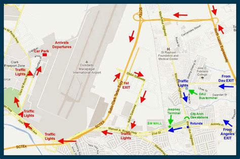 CLARK INTERNATIONAL AIRPORT Directions to CRK Airport