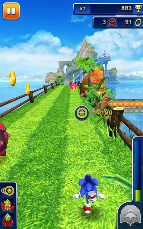 Sonic Dash for Amazon Kindle Fire – Free download games