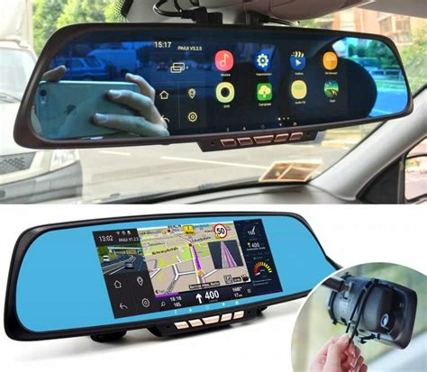 Smart Rear-View Mirror With Integrated Dash Cam