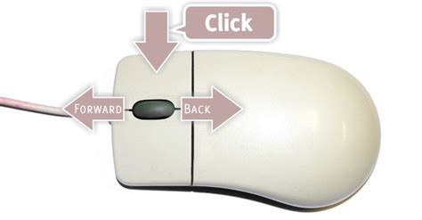 How to Fake Back and Forward Buttons With a Three-button Mouse