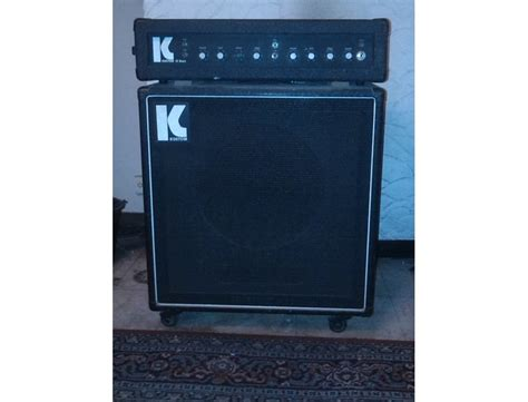 """Kustom III bass amp with 15"""" cabinet Reviews & Prices"""