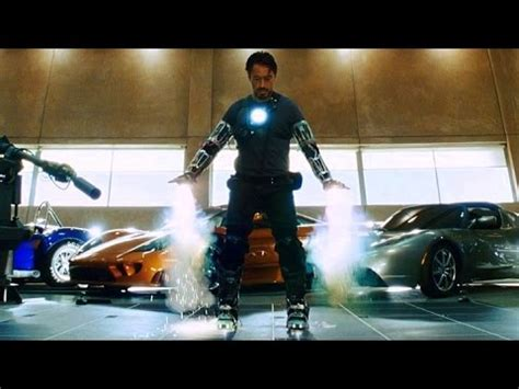 """Iron Man - """"Yeah, I Can Fly"""" - First Flight Test (Scene"""