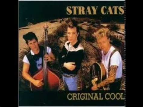 Stray cats Original cool 1993 - YouTube