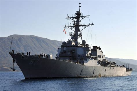 USS Cole Patrols Off Yemen After Iran-Backed Rebels Attack