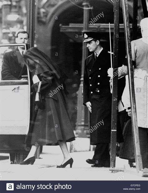Royalty - Queen Mary Funeral - The Queen and Duke of