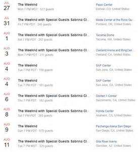 The Weeknd After Hours Tour Dates | Def Pen