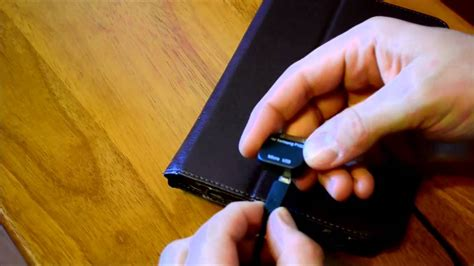 Samsung Galaxy Tab 2 - Micro USB adapter replaces Samsung