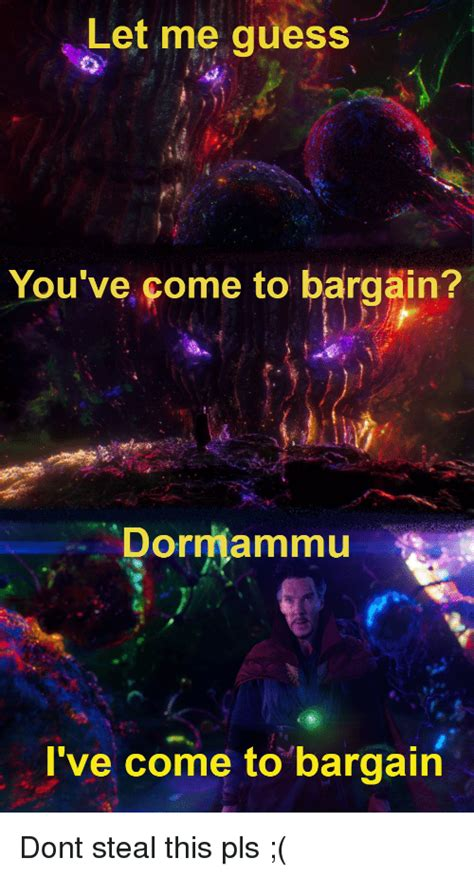 25+ Best Memes About Dormammu Ive Come to Bargain