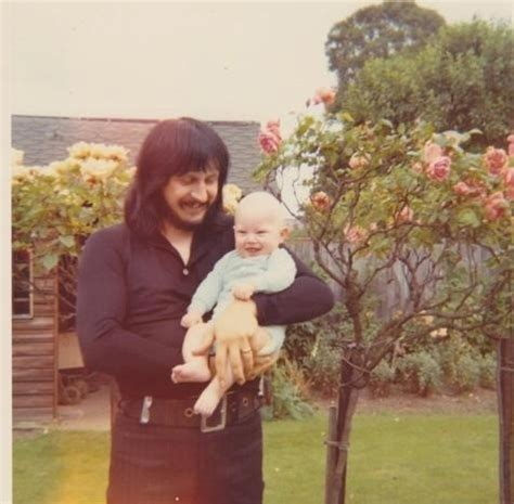 mooniegasm: John with his son Christopher