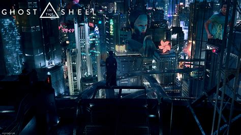 Ghost in the Shell film wallpaper 4   Confusions and