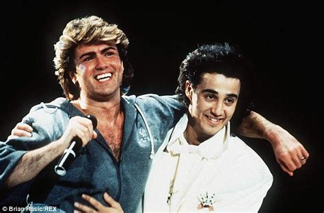 George Michael hints at a Wham! reunion with bandmate