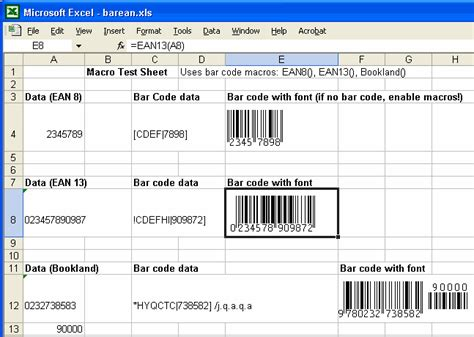 Print Your Own EAN-8, EAN-13, ISBN, and Bookland Labels