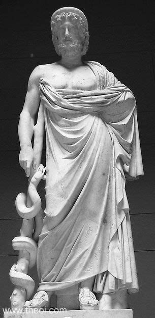 Asclepius - Ancient Greco-Roman Statue
