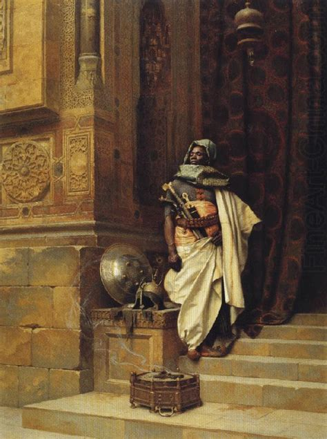 The Palace Guard Ludwig Deutsch Wholesale Oil Painting