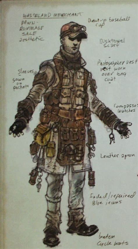 Fallout: New Vegas armor and clothing concept art - The
