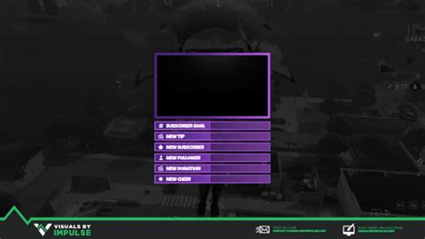 Animated Fortnite Stream Package - Twitch Graphics and