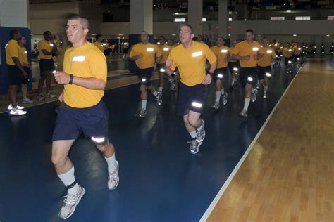 Navy Recruits Will Soon Have to Prove They Can Run Before