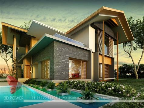 Gallery - Architectural 3D Bungalow Rendering - Modern 3D