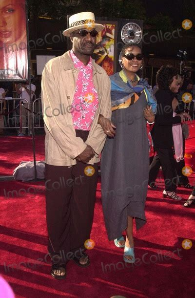 Photos and Pictures - Delroy Lindo and wife at the
