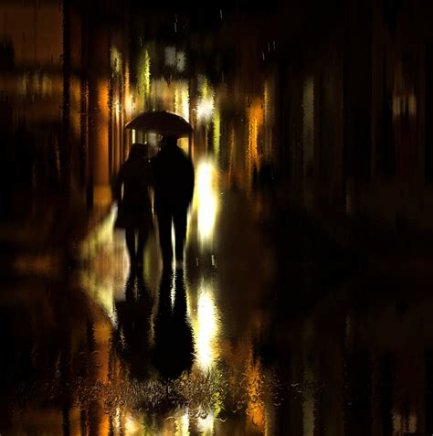 Free Images : reflection, darkness, night, black, water