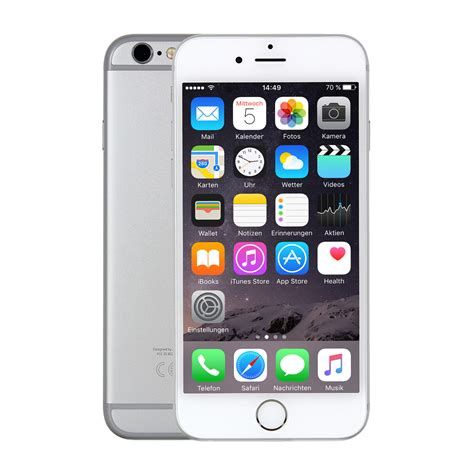 Apple iPhone 6s 32GB Silber bei notebooksbilliger