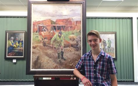 14 years old and worth £2m: meet Norfolk's 'mini Monet'