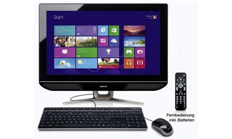 Medion Akoya P2010 D (MD 8806): All-in-One-PC bei Aldi ab