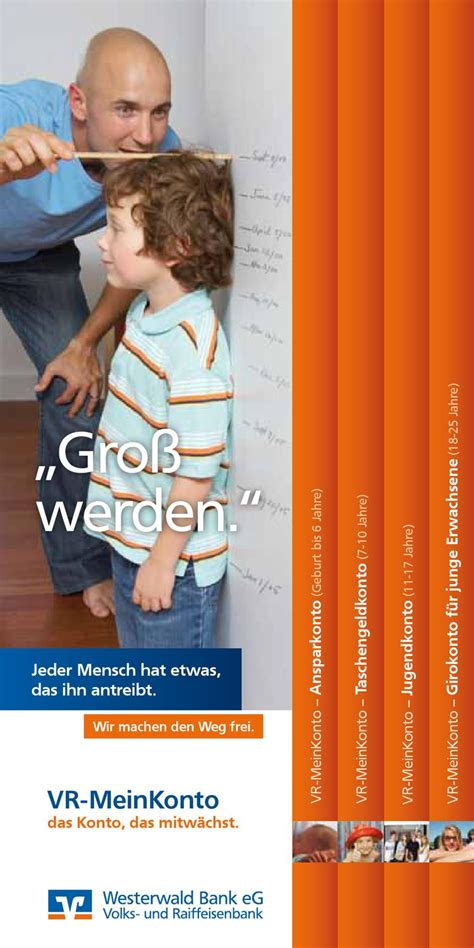 Flyer VR-MeinKonto by Westerwald Bank eG - Issuu
