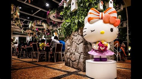Hello Kitty Cafe Singapore - Orchid Garden at Changi