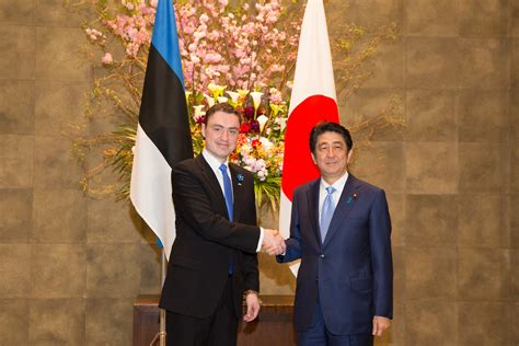 Estonia to strengthen cybersecurity cooperation with Japan