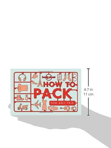How to Pack for Any Trip (Lonely Planet) Paperback