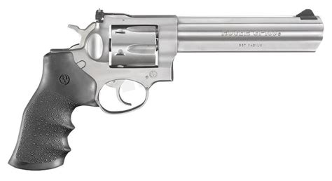 Ruger GP100 357 Magnum Stainless Revolver with 6-Inch
