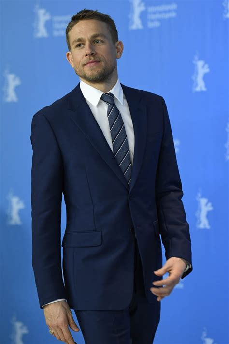 Charlie Hunnam with Robert Pattinson and Sienna Miller in