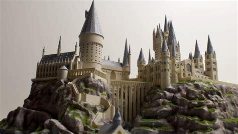 All you need to get to this Hogwarts is a 3D printer