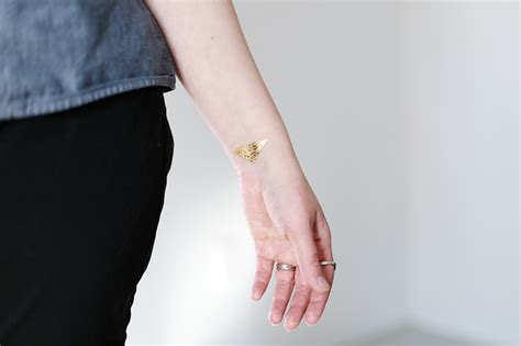DIY Temporary Gold Tattoos - The Merrythought