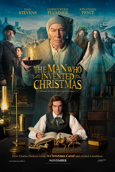 Dan Stevens is Charles Dickens in The Man Who Invented