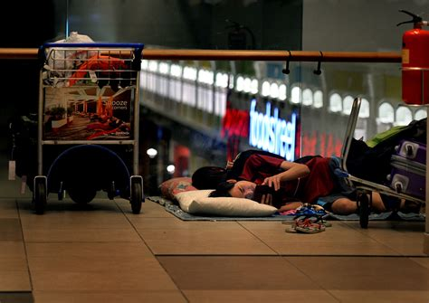 S'pore couple camp at Changi Airport for 7 months: There's
