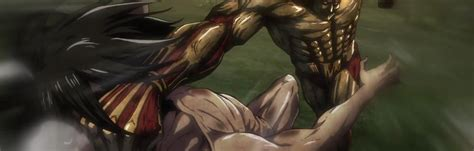 Eren Fights the Armored Titan in 'Attack on Titan'