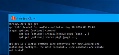 How to Install Linux Software in Windows 10's Ubuntu Bash
