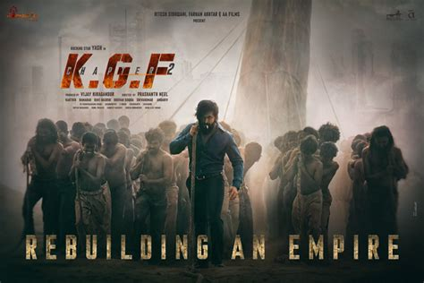 Yash's 'KGF: Chapter 2' first look released | The News Minute