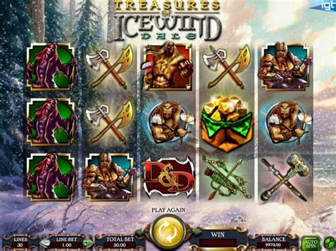 Dungeons and Dragons: Treasures of Icewind Dale Slot