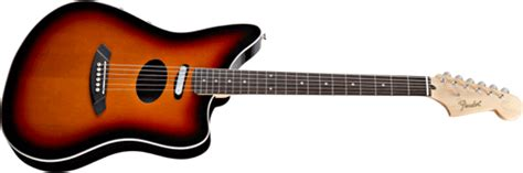 Fender Electracoustic guitars: Upgraded and redesigned