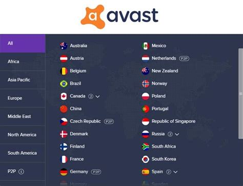 Avast SecureLine VPN Adding 37 New Server Locations