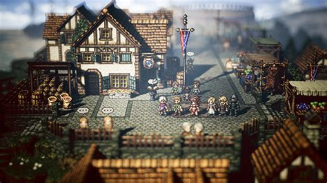 Octopath Traveler now available for Stadia - Gematsu