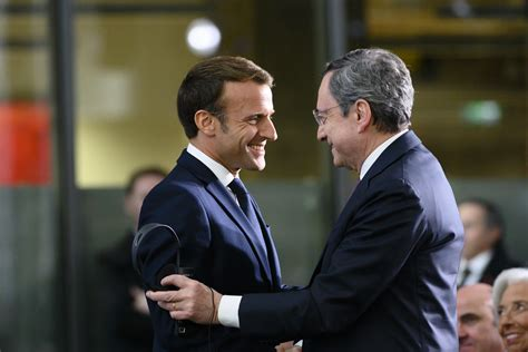 Farewell President Draghi - 28 October 2019   After giving