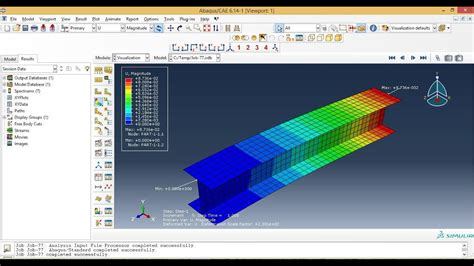 Abaqus Tutorial Videos - How To analysis 3D shell